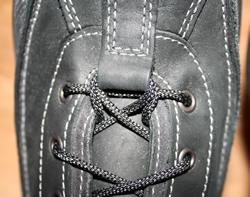 Ecco Boots - laces