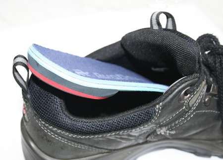 Removing orthotics from shoes